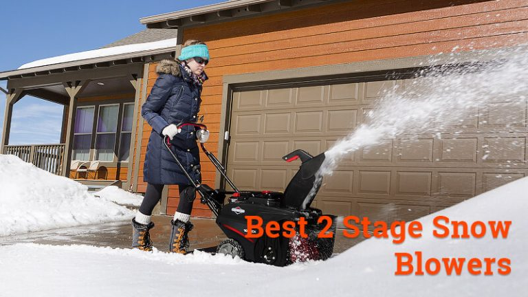 best 2 stage snow blowers