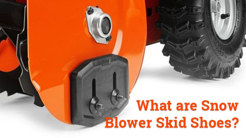 snow blower skid shoes