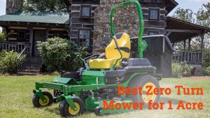 best zero turn mower for 1 acre