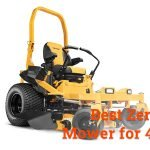 best zero turn mower for 4 acres