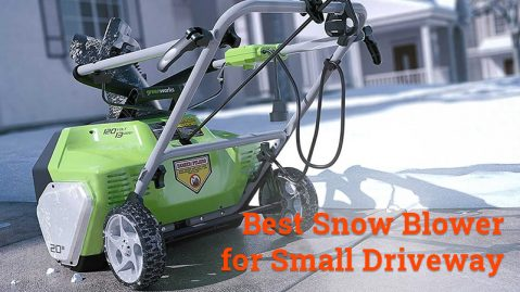 best snow blower for small driveway