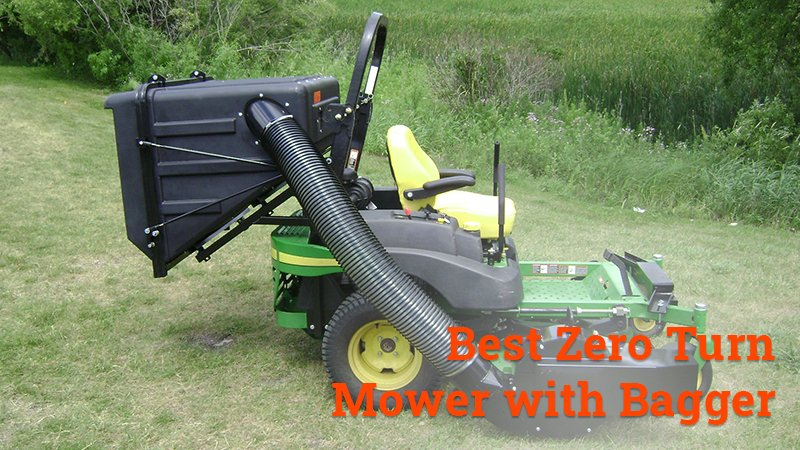 best zero turn mower with bagger