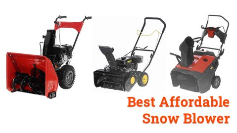 best affordable snow blower