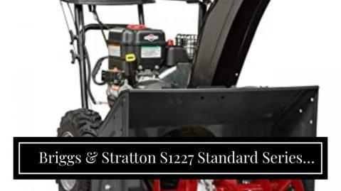 Briggs & Stratton S1227 Standard Series review