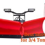 best snow plow for 3/4 ton truck