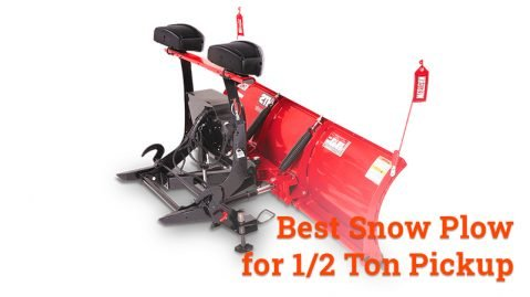 Best Snow Plow for ½ ton Pickup