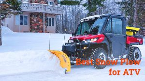 best snow plow for ATV