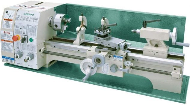 """Grizzly Industrial G0602-10"""" x 22"""" Benchtop Metal Lathe"""